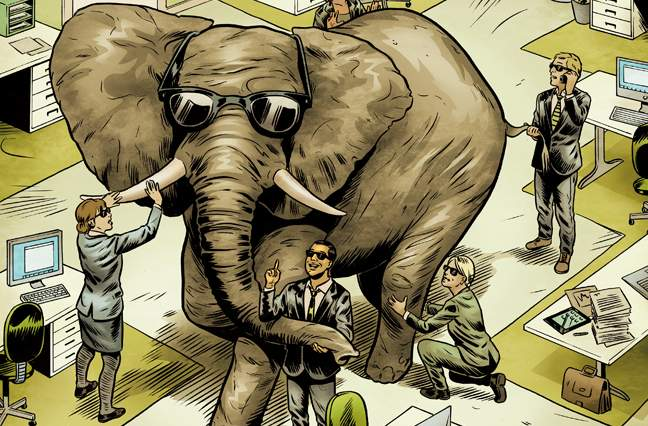 The Elephant in the Room   Leader\'s Edge Magazine