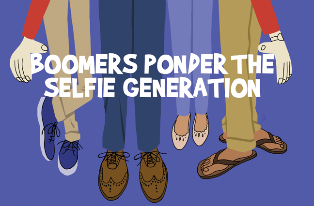 Boomers Ponder the Selfie Generation