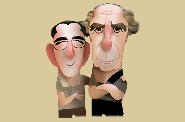 Herman and Philip Roth