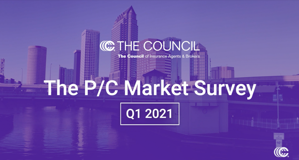 The Results Are In: Commercial P/C Market Survey Q1 2021